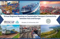 Virtual Regional Meeting on Sustainable Transport Connectivity between Asia and Europe